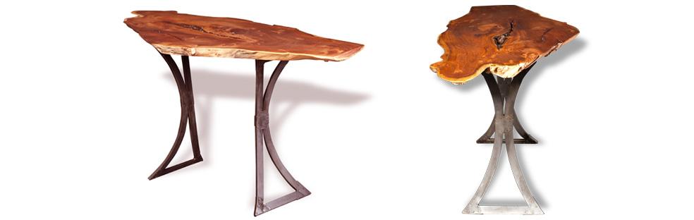 Curved Metal Table Legs