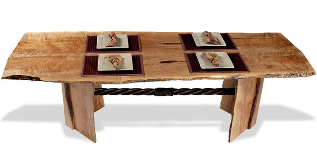 Exotic Wood Furniture   Organic, Custom Furniture Art